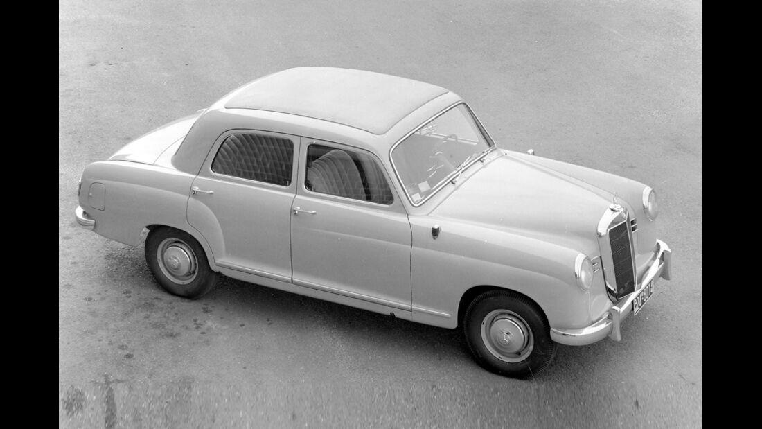 Mercedes 180 Ponton, 1953