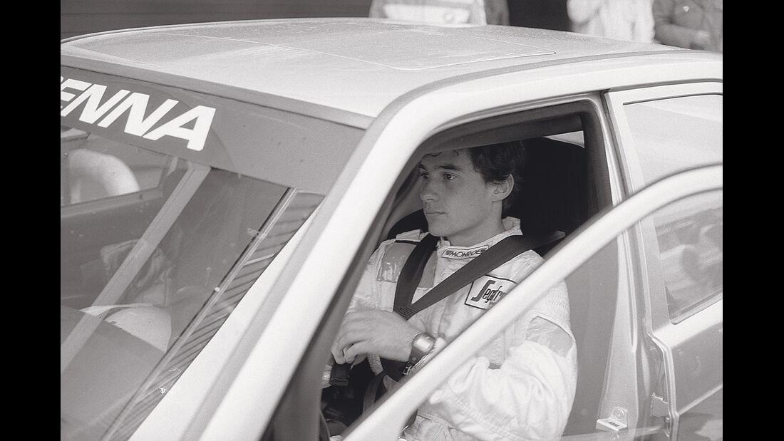 Mercedes 190 E 2.3-16, Ayrton Senna