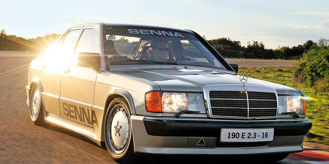 Mercedes 190 E 2.3-16, Frontansicht