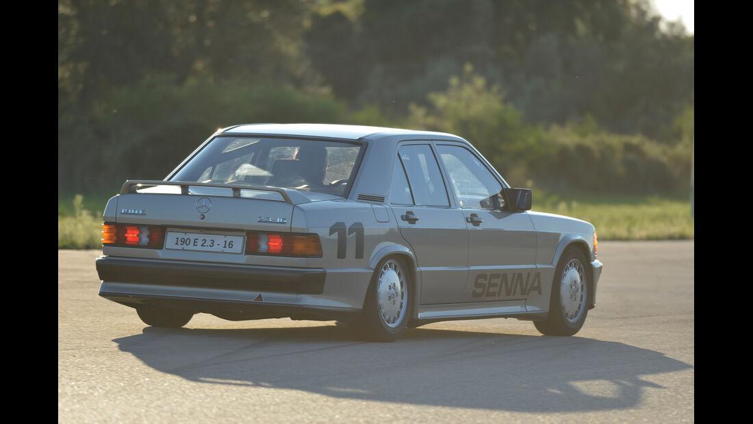 Mercedes 190 E 2.3-16, Heckansicht