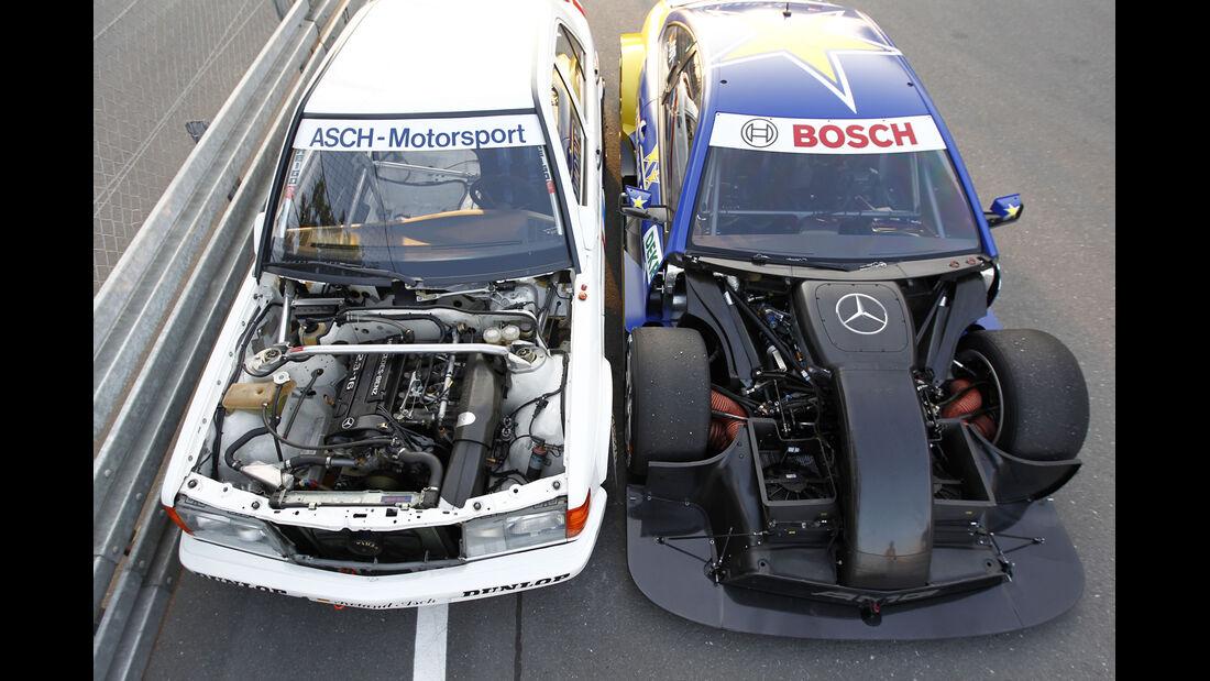 Mercedes 190 E 2.3-16, Mercedes AMG C-Coupé, Motor