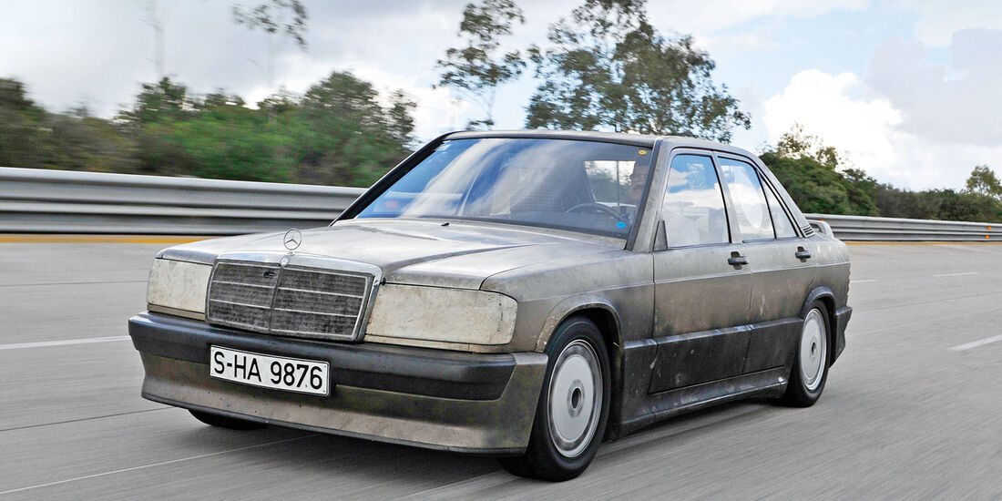 Mercedes 190 E 2.3-16, Nardo, Frontansicht