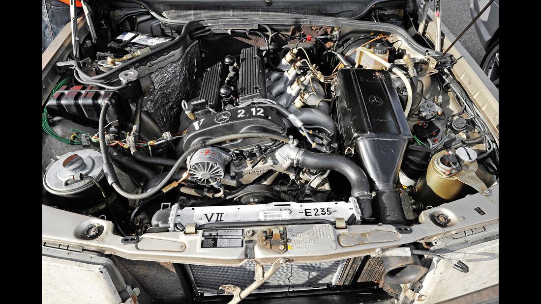 Mercedes 190 E 2.3-16, Nardo, Motor