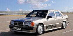 Mercedes 190 E 2.3-16, Seitenansicht