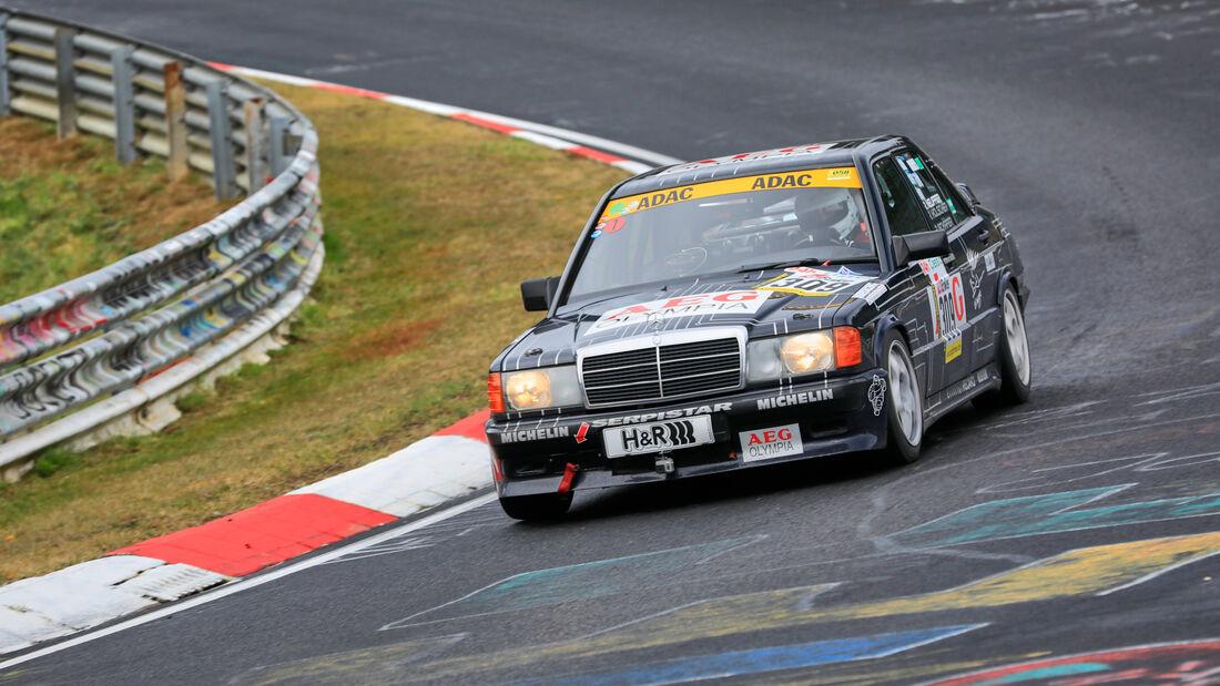 Mercedes 190 E 2.3 16 V - Startnummer 309 - 24h Classic - 24h Rennen Nürburgring - Nürburgring-Nordschleife - 25. September 2020