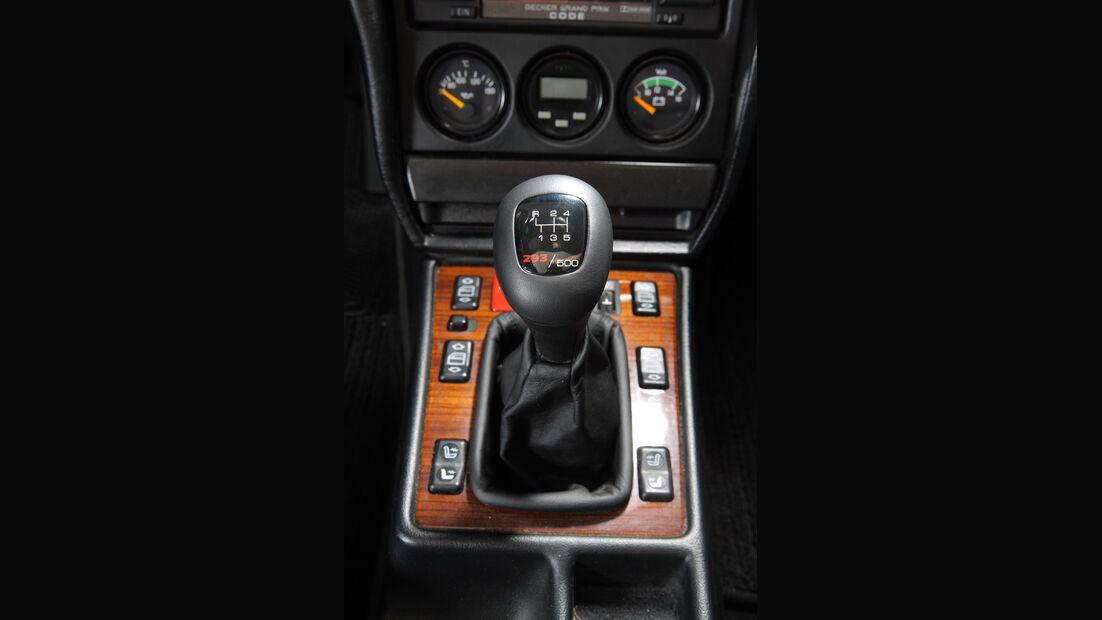 Mercedes 190 E 2.5-16 EVO II, Detail, Schalthebel