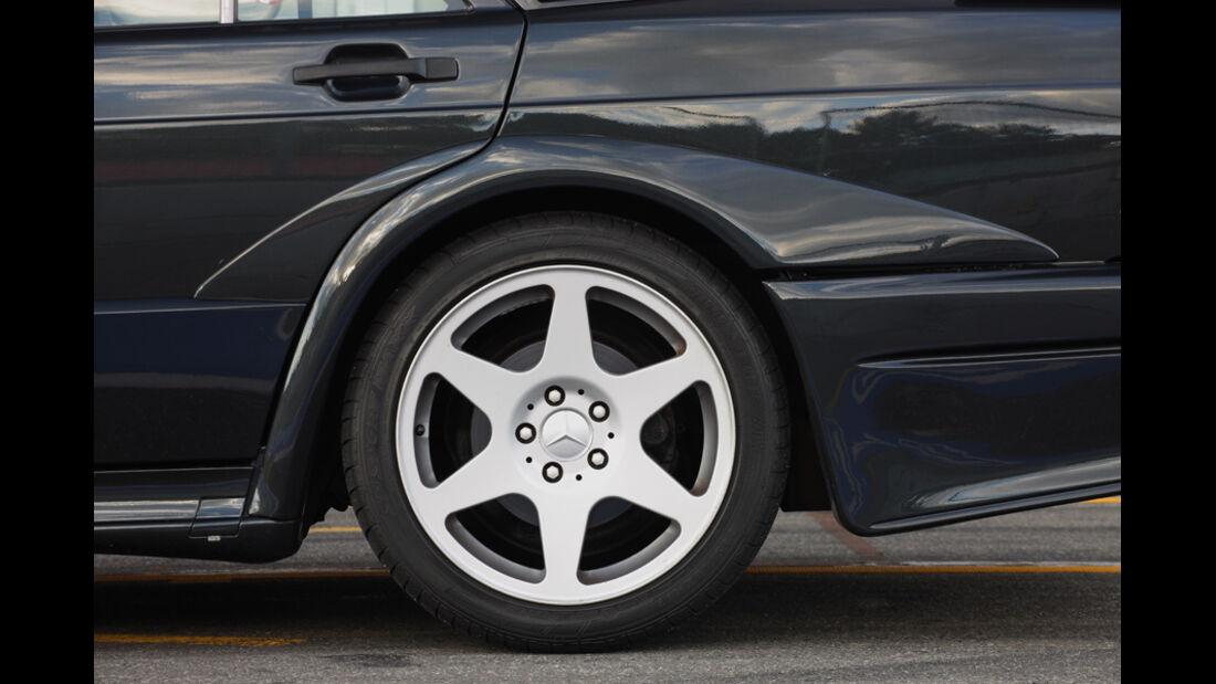 Mercedes 190 E 2.5-16 EVO II, Detailansicht, Rad