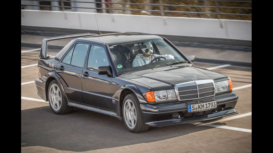 Mercedes 190 E 2.5-16 Evo II, Cro, Frontansicht