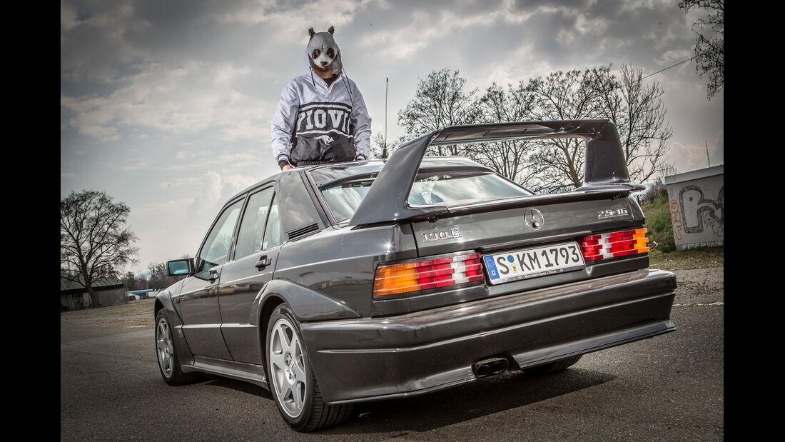 Mercedes 190 E 2.5-16 Evo II, Cro, Heckansicht