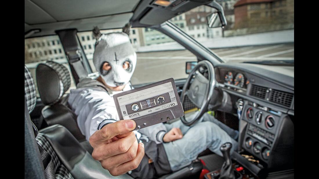 Mercedes 190 E 2.5-16 Evo II, Cro, Musikkassette