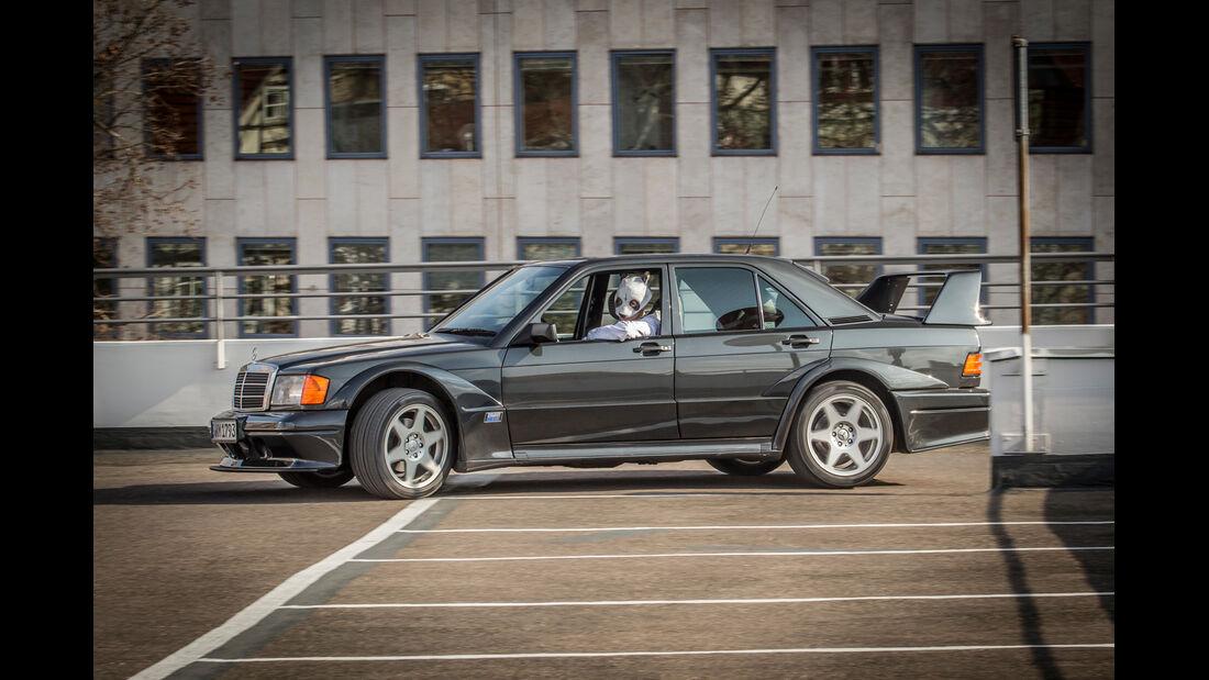 Mercedes 190 E 2.5-16 Evo II, Cro, Seitenansicht