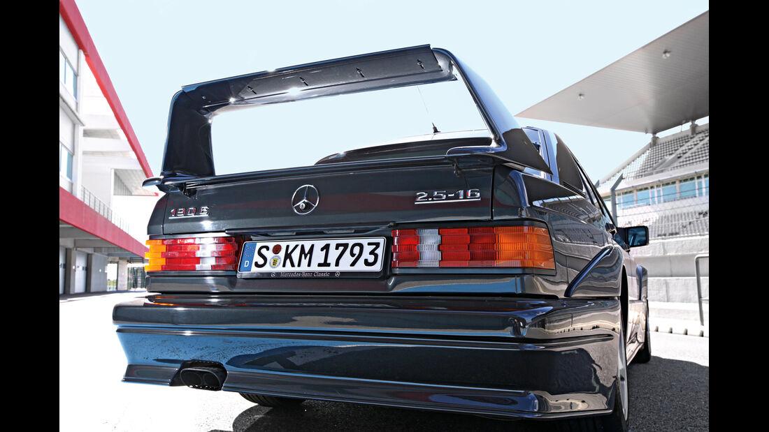 Mercedes 190 E 2.5-16 Evo II, Heck, Heckspoiler