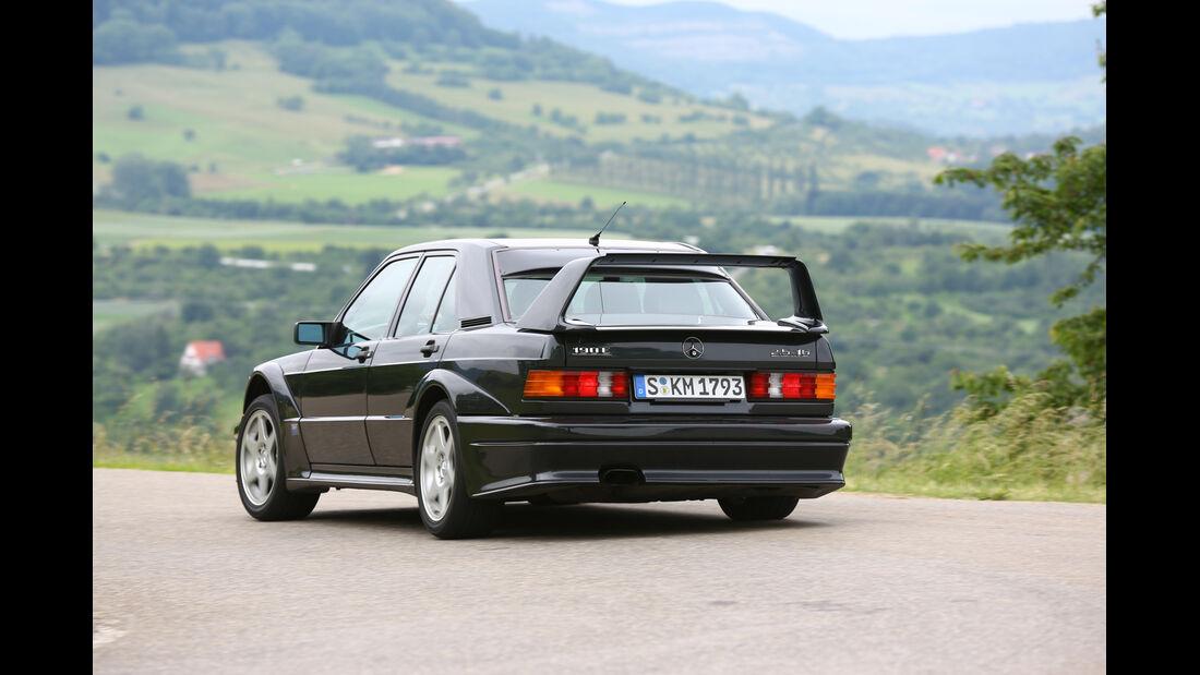 Mercedes 190 E 2.5-16 Evo II, Heckansicht