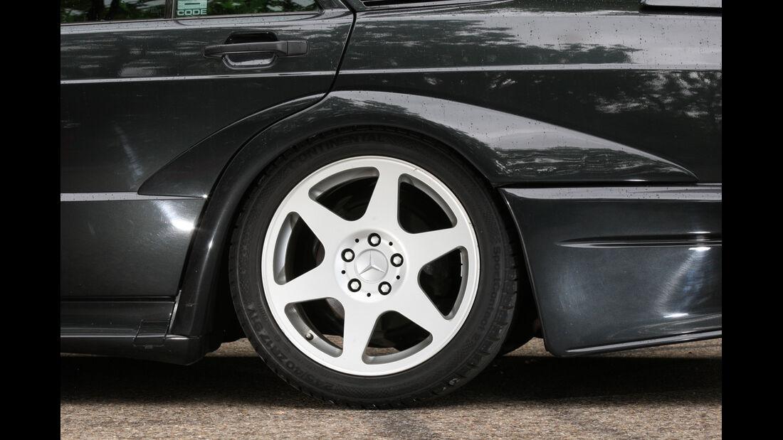 Mercedes 190 E 2.5-16 Evo II, Rad, Felge