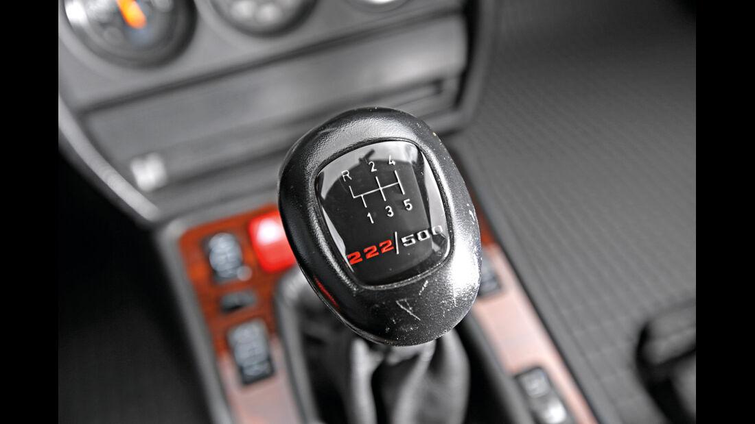 Mercedes 190 E 2.5-16 Evo II, Schalthebel