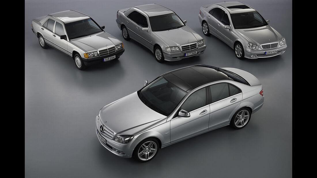Mercedes 190, Mercedes C-Klasse W 202, W 203, W 204