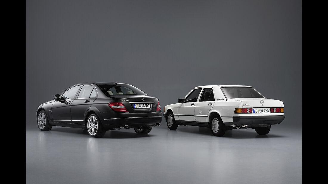 Mercedes 190, Mercedes C-Klasse W 204