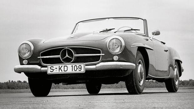 Mercedes 190 SL 75 Jahre AMS