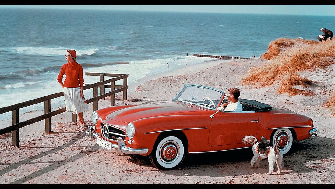 Mercedes 190 SL W 121 (1955-1963)