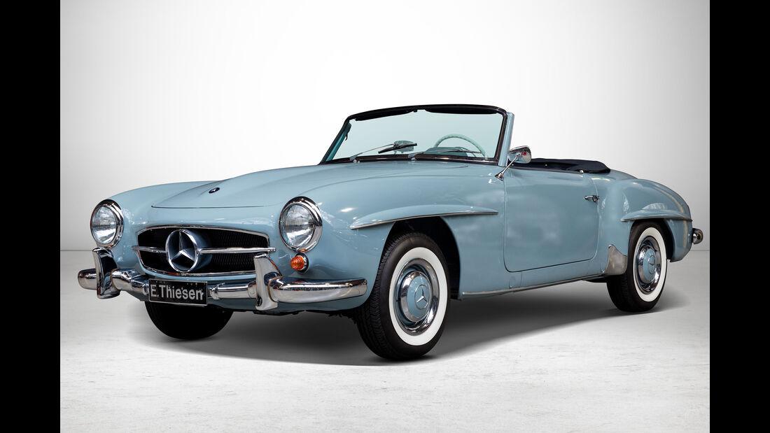 Mercedes 190 SL bei Auctionata-Auktion, Mercedes-Benz-Only