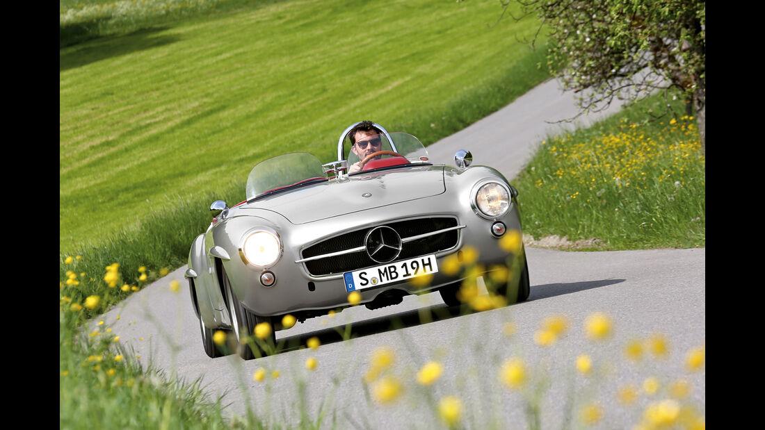 Mercedes 190 SLR, Frontansicht