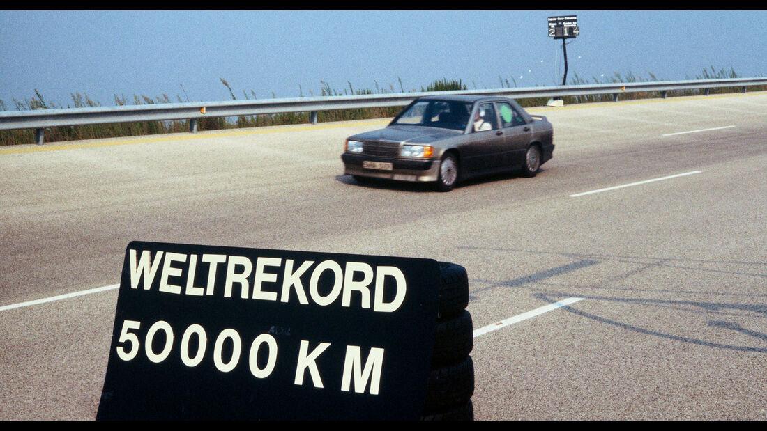 Mercedes 190E 2.3-16 Nardo Weltrekord (1983)