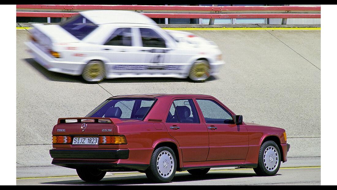 Mercedes 190E 2.5-16 512 almandinrot (197)
