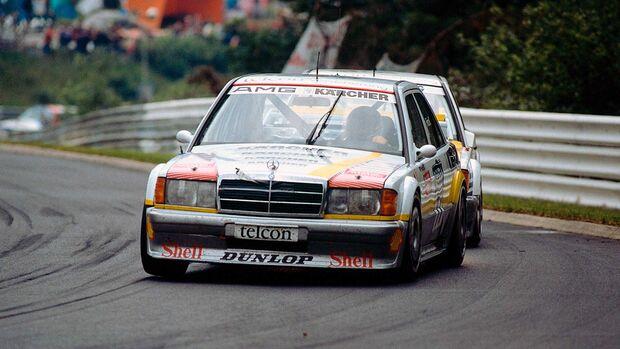 Mercedes 190E 2.5-16 Evo 2 Kreuzpaintner 24h Nürburgring 1990