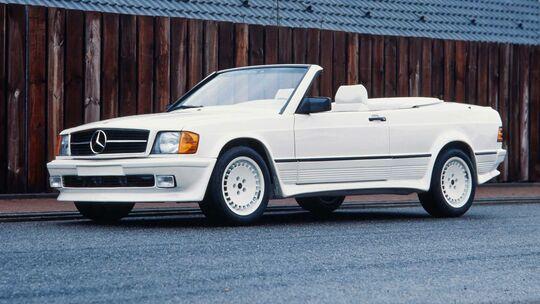 Mercedes 190E Cabrio Schulz Tuning (1986)