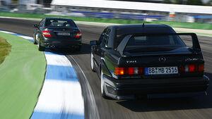 Mercedes 190E Evolution 2 Heck