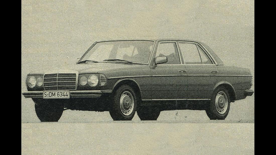 Mercedes, 200D, IAA 1981