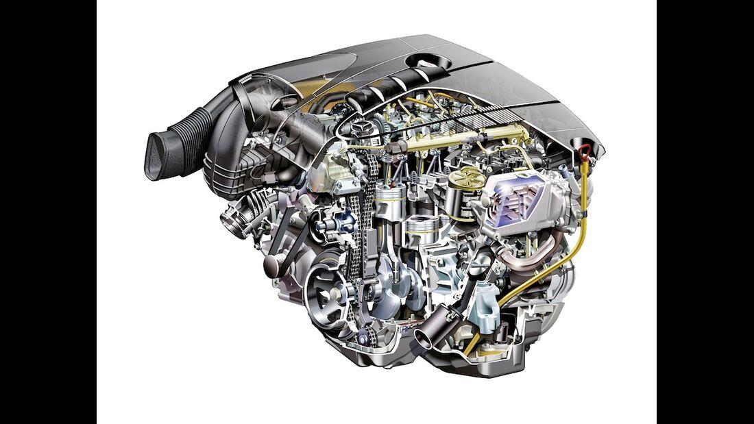 Mercedes 220 CDI Motor