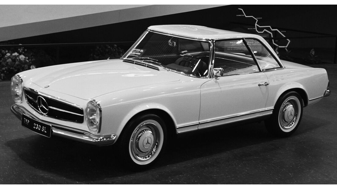 Mercedes 230 - 280 SL Pagode W 113 (1963-1971)