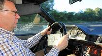 Mercedes 230 CE, Alf Cremers, Cockpit