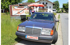 Mercedes 230 CE, Frontansicht