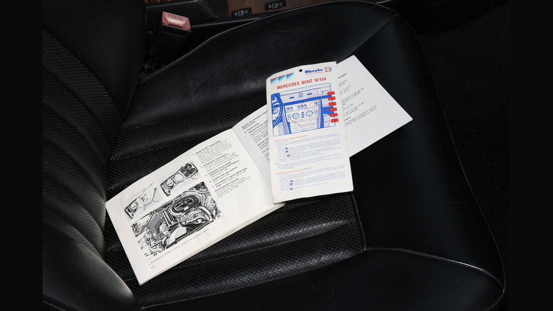 Mercedes 230 CE, Papiere