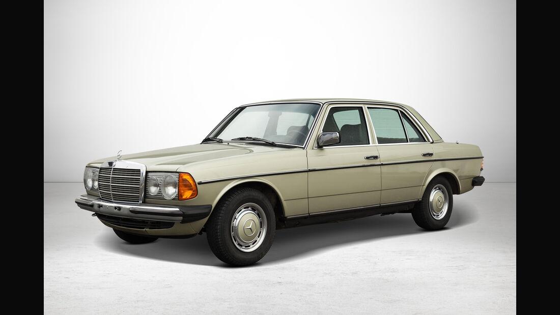 Mercedes 230 E bei Auctionata-Auktion, Mercedes-Benz-Only