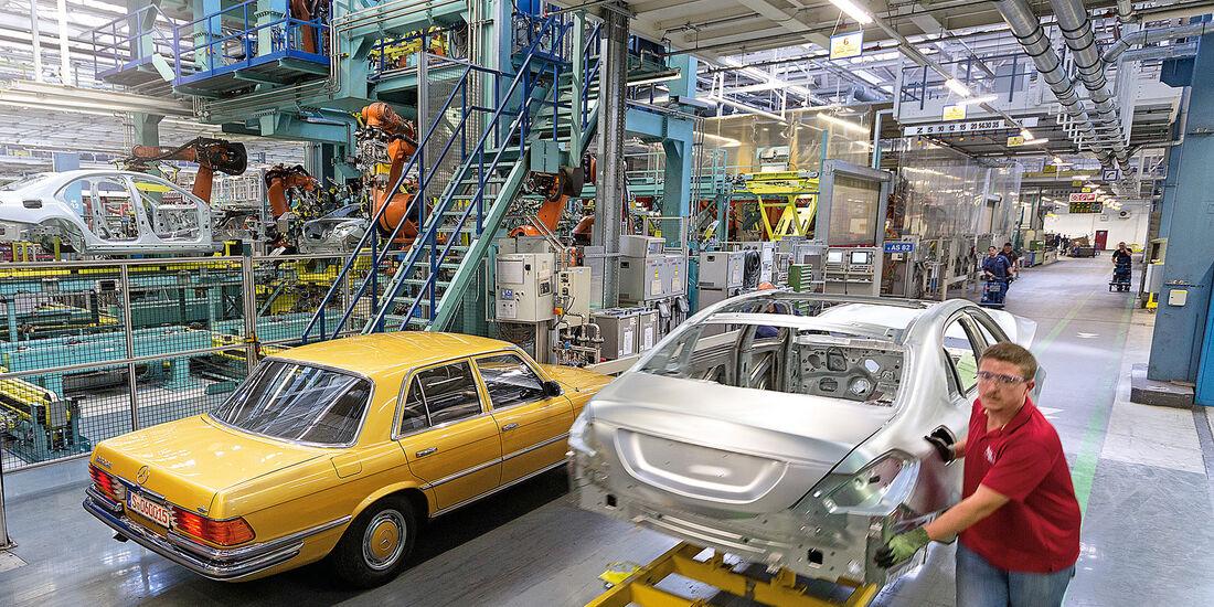 Mercedes 230 SE, Daimler-Standort Sindelfingen