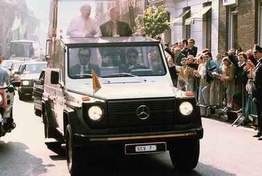 Das sind die Autos der Päpste
