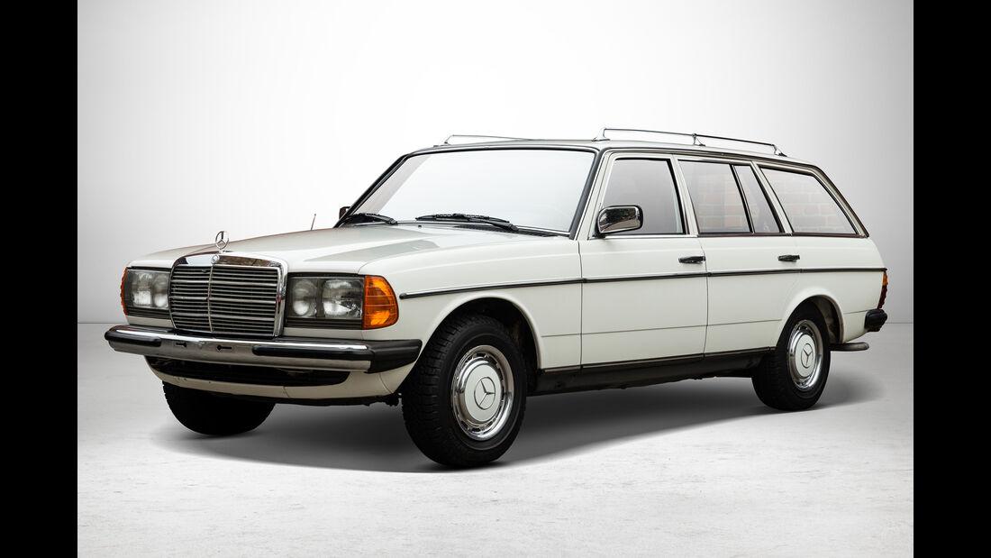 Mercedes 240 TD bei Auctionata-Auktion, Mercedes-Benz-Only