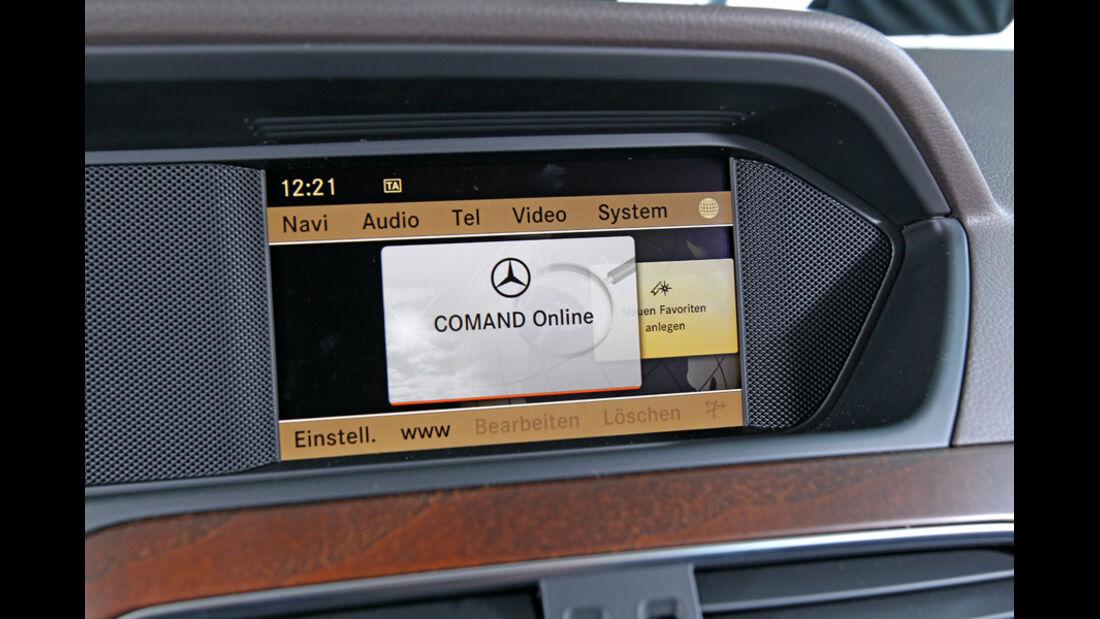 Mercedes 250 CDI, Detail, Übermüdungsassistent