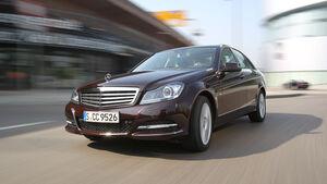 Mercedes 250 CDI, Frontansicht, Fahrt