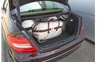 Mercedes 250 CDI, Kofferraum, gefüllt