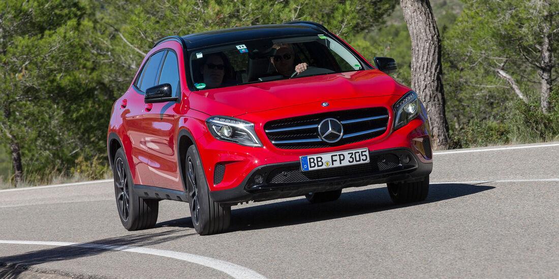 Mercedes 250 GLA 4matic, Frontansicht