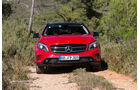 Mercedes 250 GLA 4matic, Frontansicht