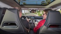 Mercedes 250 GLA 4matic, Innenraum, Fahrersicht