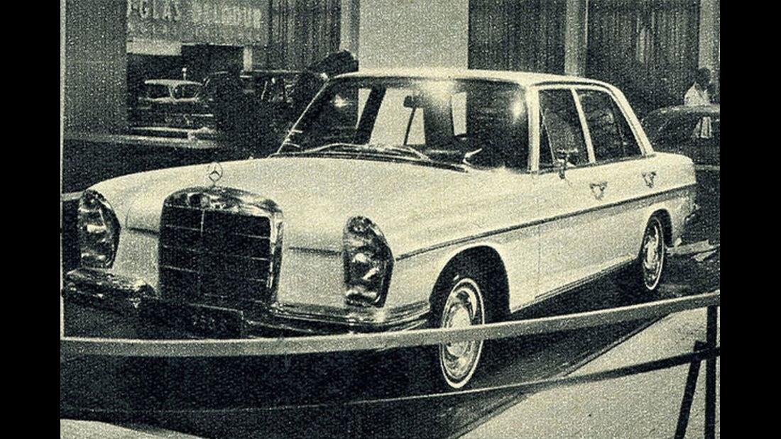 Mercedes, 250 S, IAA 1965