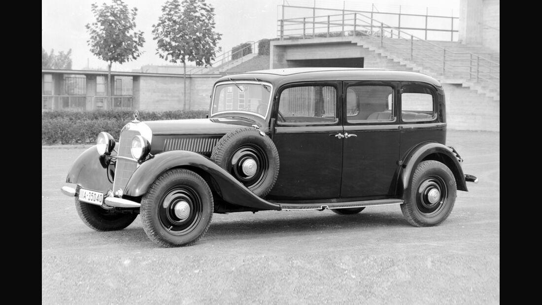 Mercedes 260 D, 1936
