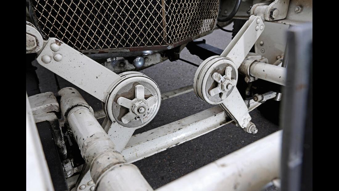 Mercedes 27/180/250 Typ 710 SS, Technik