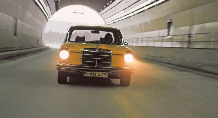 Mercedes 280 E, Frontansicht